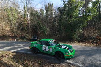 Salvini Alberto,Tagliaferri Davide(Porsche 911 rs,Palladio Historic,#3), CAMPIONATO ITALIANO RALLY AUTO STORICHE