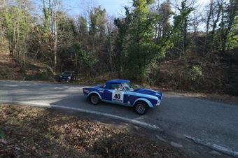 Graglia Bruno,Barbero Roberto(Fiat 124 Abarth,Dolly Motorsport,#40), CAMPIONATO ITALIANO RALLY AUTO STORICHE