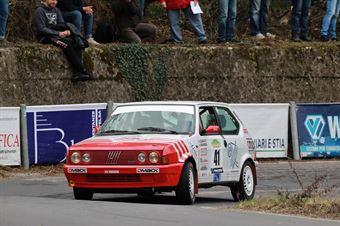 Soave Fiorenza,Blanco Malerba Ornella(Fiat Ritmo 130 tc,Rally Club Team,#41), CAMPIONATO ITALIANO RALLY AUTO STORICHE