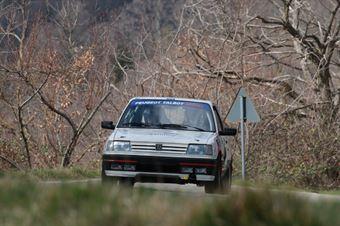 Perricone Roberto,Scrigna Alessandro(Peugeot 309 Gti,Project Team,#44), CAMPIONATO ITALIANO RALLY AUTO STORICHE
