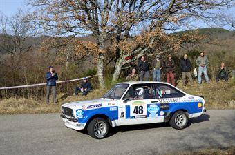 Porta Pier Luigi,Santi Giuliano(Ford Escort Rs,Rally&co,#48), CAMPIONATO ITALIANO RALLY AUTO STORICHE