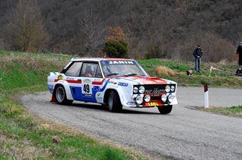 Pellegrino Pierangelo,Peruzzi Davide(Fiat Abarth 131 Rally,Aeffe Sport,#49), CAMPIONATO ITALIANO RALLY AUTO STORICHE