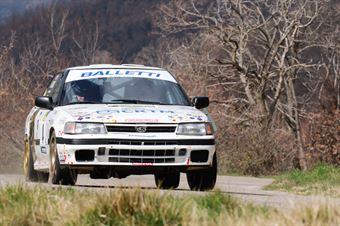 Riolo Salvatore,Floris Alessandro(Subaru Legacy,Cst Sport,#4), CAMPIONATO ITALIANO RALLY AUTO STORICHE