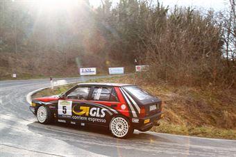 Battistolli Alberto,Cazzaro Luigi(Lancia Delta Integrale,Key Sport Engineering,#5), CAMPIONATO ITALIANO RALLY AUTO STORICHE