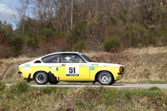 Gargani Paolo,Giannini Alessandro(Opel Kadet Gte,Romei Sport Team,#51), CAMPIONATO ITALIANO RALLY AUTO STORICHE