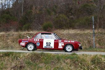 Giuliani Massimo,Sora Claudia(Lancia Fulvia Rally,Rally Club Team,#52), CAMPIONATO ITALIANO RALLY AUTO STORICHE