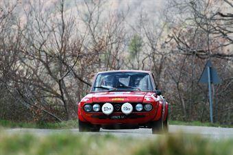 Caporale Ermanno,Pontarollo Diego(Lancia Fulvia Coupe,Biella Motor Team,#53), CAMPIONATO ITALIANO RALLY AUTO STORICHE