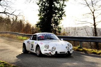 Falchetti Ettorre,Mischi Emanuele(Alpine a110,Squadra Piloti Senesi,#54), CAMPIONATO ITALIANO RALLY AUTO STORICHE