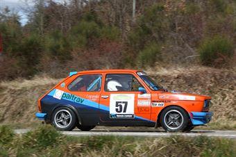 Chivelli Luciano,Chivelli Lorena(Fiat 127 sport,Rally Club Team,#57), CAMPIONATO ITALIANO RALLY AUTO STORICHE