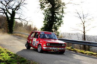 Perrone Bruno Antonio,Buffoli Roberto(Fiat 127 cl,Novara Corse,#58), CAMPIONATO ITALIANO RALLY AUTO STORICHE