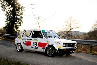 Lorenzi Giovanni,Pellegrini Alessio(Fiat 127 Sport,#59), CAMPIONATO ITALIANO RALLY AUTO STORICHE