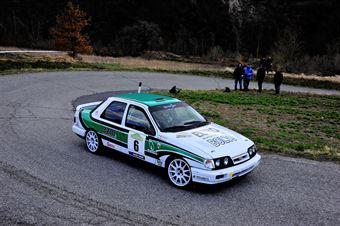 Bianco Riccardo,Handel Fabrizio(Ford Sierra Cosworth,Palladio Historic,#6), CAMPIONATO ITALIANO RALLY AUTO STORICHE