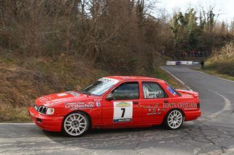 Pierangioli Walter,Guzzi Giancarla(Sierra Cosworth,ProRacing,#7), CAMPIONATO ITALIANO RALLY AUTO STORICHE
