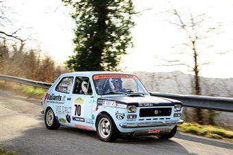Vigna Claudio,Buzzi Oscar(Fiat 127,Acu Friuli,#70), CAMPIONATO ITALIANO RALLY AUTO STORICHE
