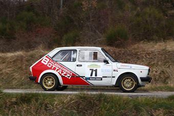 Bottazzi Alessandro,Guidotti Moreno(Fiat 127,Piacenza Corse,#71), CAMPIONATO ITALIANO RALLY AUTO STORICHE