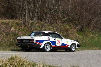 Amanti Maurizio,Masi Rita(Triumph tr7,Kinzica,#72), CAMPIONATO ITALIANO RALLY AUTO STORICHE