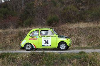 Cecconi Giuseppe,Parrini Ilaria(Fiat 500,Promoservice,#74), CAMPIONATO ITALIANO RALLY AUTO STORICHE