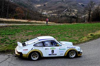 Marcori Gianmarco,Innocenti Iacopo(Porsche 911 sc,Proracing,#9), CAMPIONATO ITALIANO RALLY AUTO STORICHE