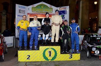 Podio Trofeo A112 Abarth, CAMPIONATO ITALIANO RALLY AUTO STORICHE