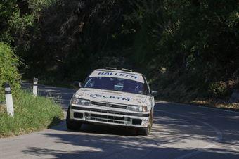 Riolo Toto,Rappa Gianfrancesco Maria(Subaru legacy,CST Sport,#201), CAMPIONATO ITALIANO RALLY AUTO STORICHE