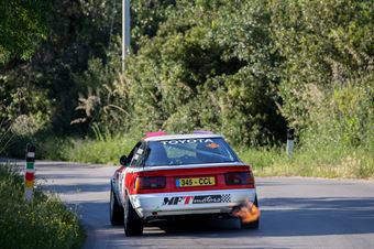 Patuzzo Nicola,Martini Alberto(Ford Sierra Cosworth,Team Bassano,#103), CAMPIONATO ITALIANO RALLY AUTO STORICHE