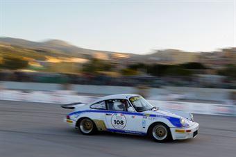 Lombardo Mauro,Merendino Rosario(Porsche carrera rs,Ro Racing,#108), CAMPIONATO ITALIANO RALLY AUTO STORICHE