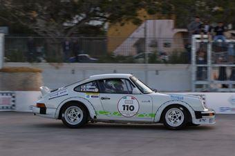 Vazzana Pietro,Genovese Roberto(Porsche 911Sc,Polisportiva Real Cefalu,#110), CAMPIONATO ITALIANO RALLY AUTO STORICHE