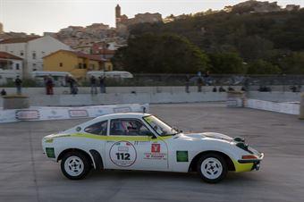 Mannino Francesco,Di Salvo Giuseppe(Opel Gt,Island Motorsport,#112), CAMPIONATO ITALIANO RALLY AUTO STORICHE