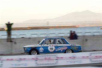Fullone Pierluigi,Gargano Michele(Bmw 2002 ti,Festina Lente,#115), CAMPIONATO ITALIANO RALLY AUTO STORICHE