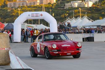 Parisi Antoni,D Angelo Giuseppe((Porsche 911 S,Scuderia dei Rododendri,#116), CAMPIONATO ITALIANO RALLY AUTO STORICHE