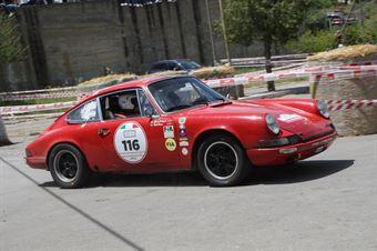 Parisi Antonio,D Angelo Giuseppe((Porsche 911 S,Scuderia dei Rododendri,#116), CAMPIONATO ITALIANO RALLY AUTO STORICHE