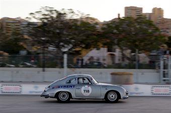 Montalto Sergio,Consiglio Roberto(Porsche 356 A,#118), CAMPIONATO ITALIANO RALLY AUTO STORICHE