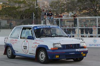 Paoletti Michele,Mannari Rossano(Renault 5 Gt turbo,#121), CAMPIONATO ITALIANO RALLY AUTO STORICHE