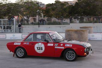 Ridolfo Giuseppe,Tudisco Salvatore(Lancia Fulvia Coupe,Scuderia Etna,#125), CAMPIONATO ITALIANO RALLY AUTO STORICHE