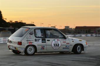 Misita Sergio,Rizzo Giuseppe(Peugeot 205,Omega,#132), CAMPIONATO ITALIANO RALLY AUTO STORICHE