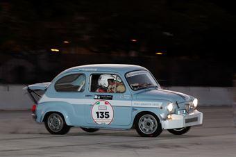 Nicolosi Ruggero,Nicolosi Dario(Abarth 1000 tc,Scuderia Etna,#135), CAMPIONATO ITALIANO RALLY AUTO STORICHE