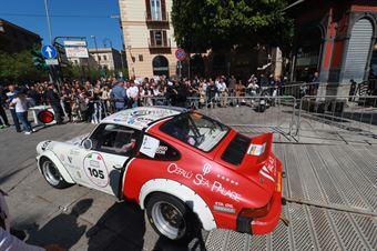 Lombardo Partenza, CAMPIONATO ITALIANO RALLY AUTO STORICHE