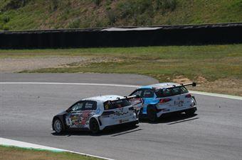 Cenedese Patrinicola (Scuderia del Girasole, Volkswagen Golf GTI TCR DSG #9)Andrea Mabellini (Elite Motorsport, Volkswagen Golf GTI TCR DSG #77), TCR DSG ENDURANCE