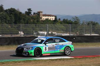 Dionisio Barri (BF Motorsport,Audi RS3 LMS TCR DSG #8), TCR DSG ENDURANCE