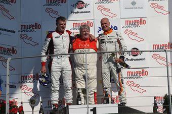 Ermanno Dionisio (BF Motorsport,Audi RS3 LMS TCR DSG #8)Sandro Pelatti (Scuderia del Girasole,Audi RS3 LMS TCR DSG #7)Andrea Masserini (BD Racing,Cupra TCR DSG #28), TCR DSG ENDURANCE