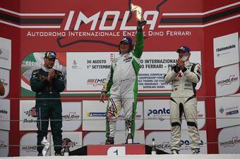 Podio gara 1 Salvatore Tavano (Sc. del Girasole   Cupra Racing,Cupra TCR SEQ #4) Matteo Greco (Sc. del Girasole   Cupra Racing,Cupra TCR SEQ #34) Marco Pellegrini Anatrella (Target Competition,Hyundai i30 N TCR #67), TCR ITALY TOURING CAR CHAMPIONSHIP
