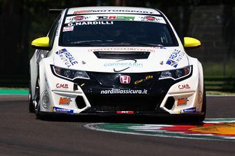 Davide Nardilli (MM Motorsport,Honda Civic TCR #9), TCR ITALY TOURING CAR CHAMPIONSHIP