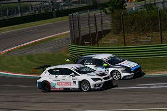 Eric Scalvini (Sc. del Girasole   Cupra Racing,Cupra TCR DSG #19)Marco Pellegrini Anatrella (Target Competition,Hyundai i30 N TCR #67), TCR ITALY TOURING CAR CHAMPIONSHIP