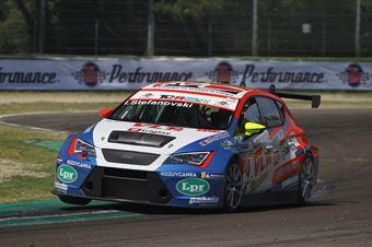 Igor Stefanovski (Stefanovski Racing Team,Cupra TCR SEQ #14), TCR ITALY TOURING CAR CHAMPIONSHIP