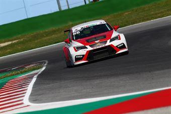 Gunter Benninger (Team Wimmer Werk MS,Cupra Leon TCR 2018 #56) , TCR ITALY TOURING CAR CHAMPIONSHIP