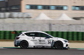 Matteo Greco (Sc. del Girasole   Cupra Racing,Cupra TCR SEQ #34) , TCR ITALY TOURING CAR CHAMPIONSHIP