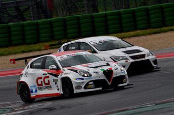 Massimiliano Mugelli (PRS Group,Alfa Romeo Giulietta QV TCR #3) Salvatore Tavano (Sc. del Girasole   Cupra Racing,Cupra TCR SEQ #4), TCR ITALY TOURING CAR CHAMPIONSHIP