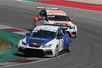 Christian Voithofer (Team Wimmer Werk MS,Cupra Leon TCR 2018 #99), TCR ITALY TOURING CAR CHAMPIONSHIP