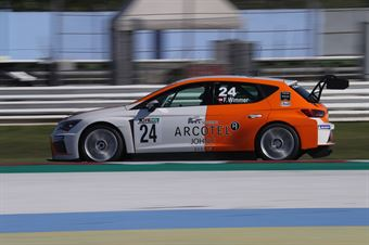 Felix Wimmer (Team Wimmer Werk MS,Cupra Leon TCR 2018 #24), TCR ITALY TOURING CAR CHAMPIONSHIP