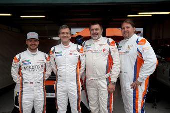 Felix Wimmer, Peter Gross, Gunter Benninger, Christian Voithofer,  Team Wimmer Werk MS,, TCR ITALY TOURING CAR CHAMPIONSHIP